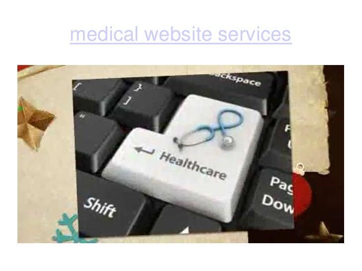 medical website services