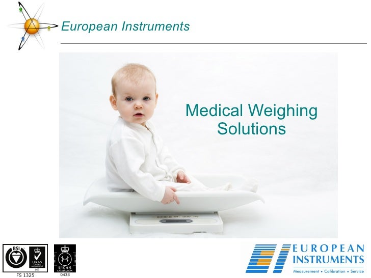 European Instruments Medical Weighing Solutions