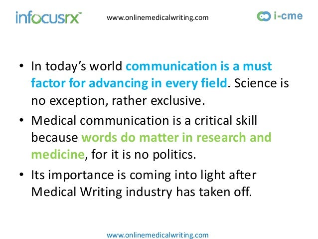 Clinical Medical Writing | Medical Writing Courses | Medical