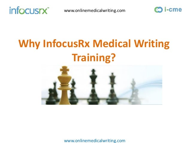 Medical writing services training