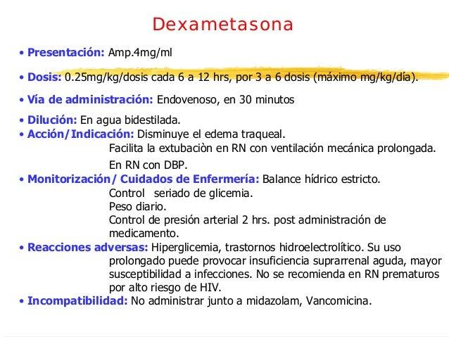 Medicamentos neonatologia