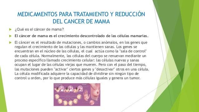 Medicamentos contra el cancer de mama - Tratamiento para carcoma ...