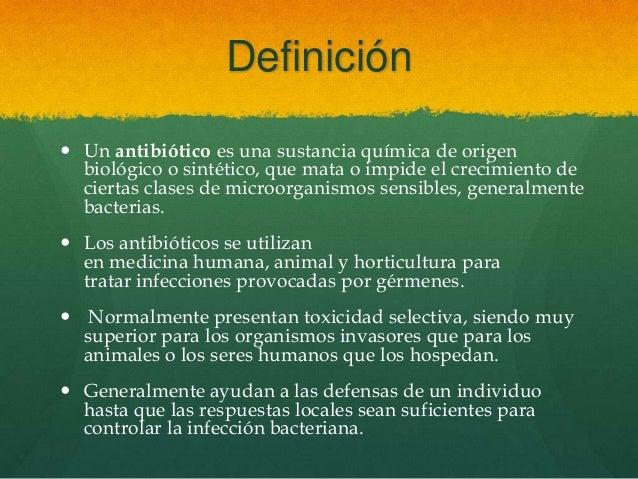 Medicamentos contra las infecciones for Horticultura definicion