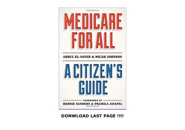 [PDF] FREE Medicare for All: A Citizen's Guide FULL Slide 3