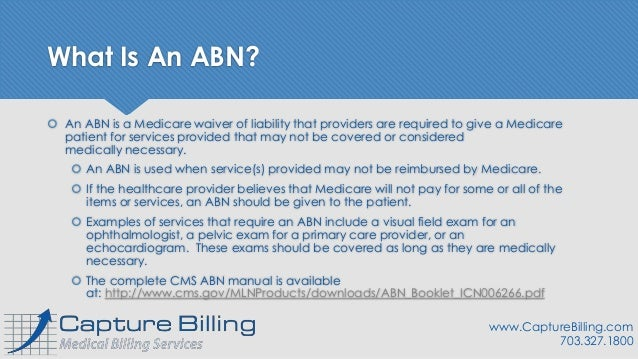 Medicare Advance Beneficiary Notice (ABN): A Quick How-To