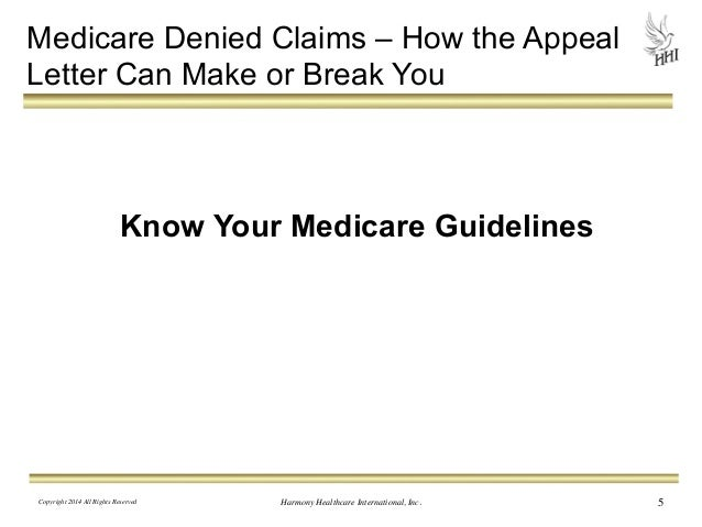 Medicare denied claims how the appeal letter can make or break you 4 5 medicare denied claims how the appeal letter spiritdancerdesigns