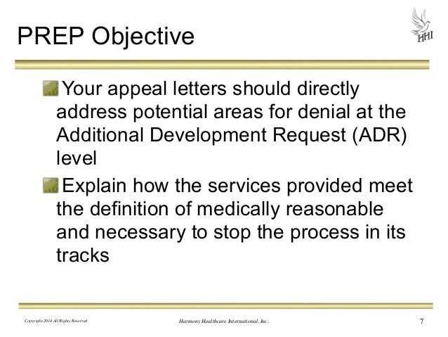 Medicare Denied Claims  How The Appeal Letter Can Make Or Break You