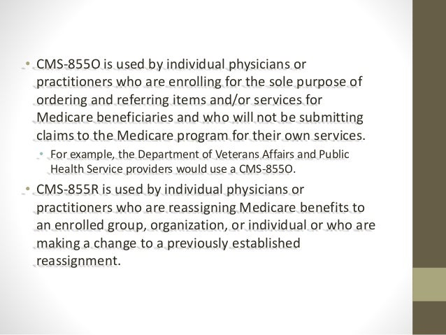 Medicare Provider Enrollment: Which CMS-855 Form Do YOU Need?