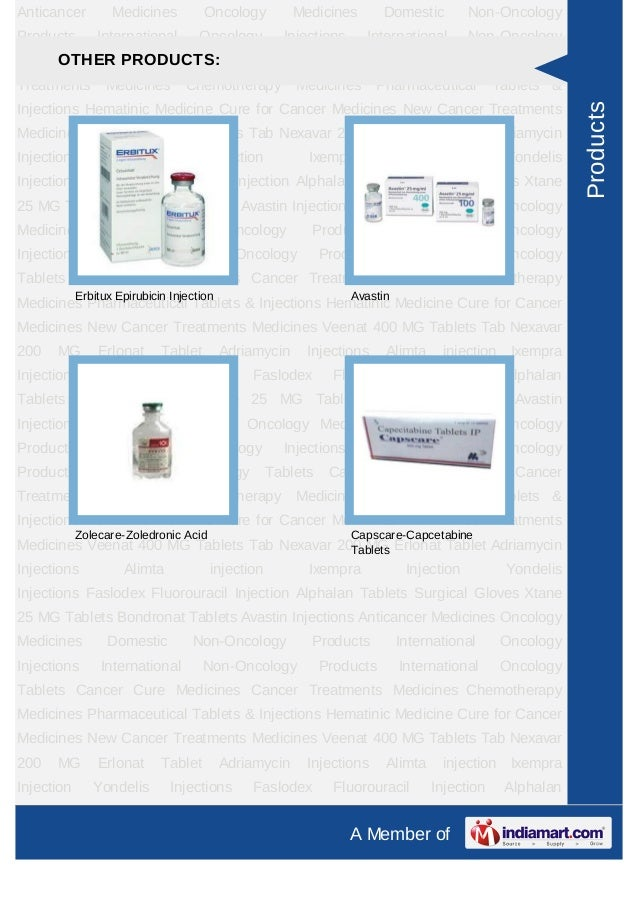 Anticancer         Medicines          Oncology          Medicines       Domestic         Non-OncologyProducts        Inter...