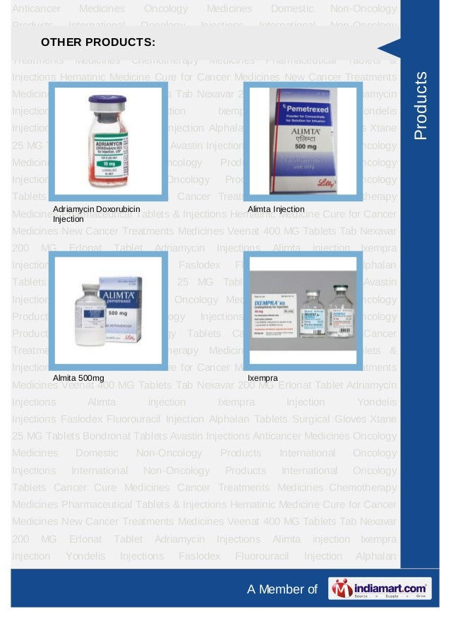 Anticancer        Medicines          Oncology        Medicines         Domestic         Non-OncologyProducts       Interna...