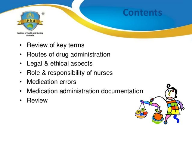 ethical on medication errors by nurses The medical-surgical nurse faces unique moral and ethical situations on a daily  basis when caring for the adult patient the code of ethics for nurses sets forth.