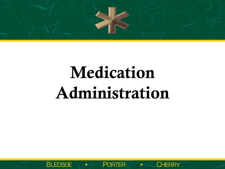 MedicationAdministration