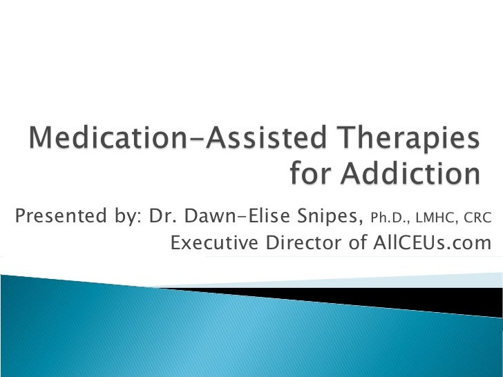 Presented by: Dr. Dawn-Elise Snipes,  Ph.D., LMHC, CRC Executive Director of AllCEUs.com
