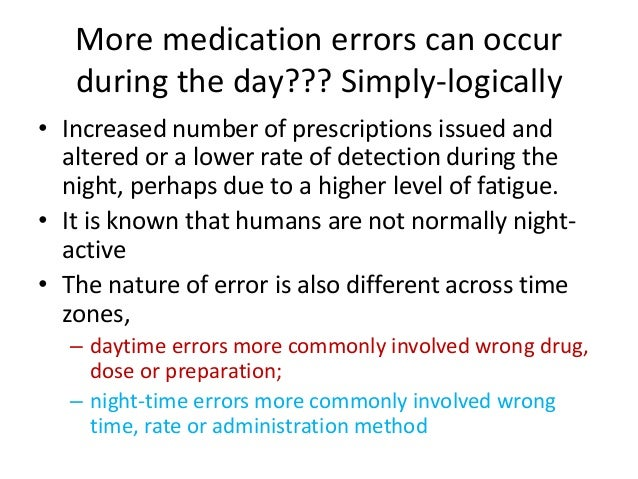Conclusion from Roseman and Booker • Assessed the effects of a range of workload factors. • They found errors increased in...