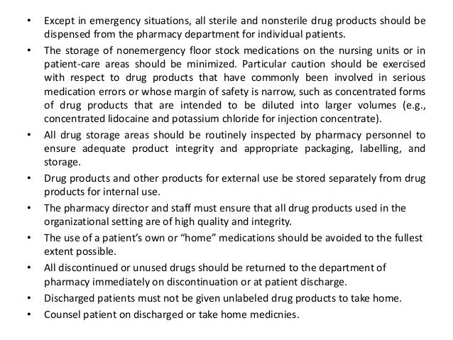Recommendations for Prescribers. • To determine appropriate drug therapy, prescribers should stay abreast of the current s...