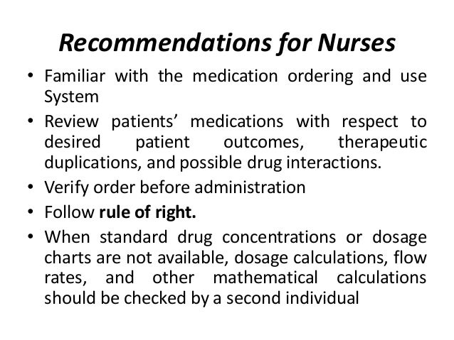 Patients and Personal Caregivers. • Inform and communicate • Feel free to ask question • Learn medicine and use. • Adhere ...