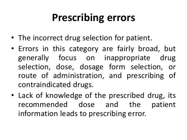 Prescription and prescribing mean? • Prescribing is the process whereby a doctor, nurse or other registered professional a...