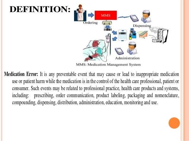 Medication error, nursing responsibility Slide 2