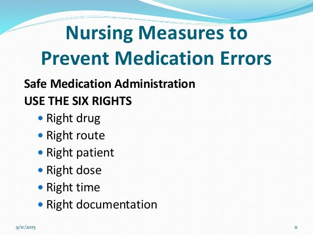 medication administration errors Learn more about common nursing medication errors, and how to prevent them   improper administration technique errors , such as administering a medication .