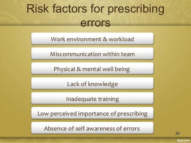 Furosemide Medication Error