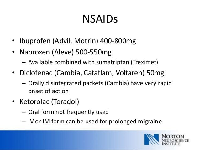Medication maze headache school april 2013