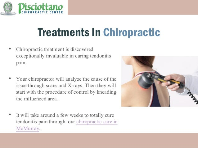 medication of tendonitis - treatment by pisciottano chiropractic cent…, Human Body
