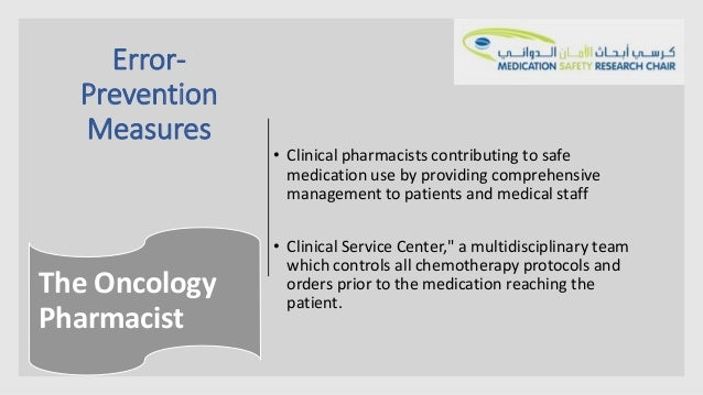 Medication saftey oncology setting for Nccn chemotherapy order templates