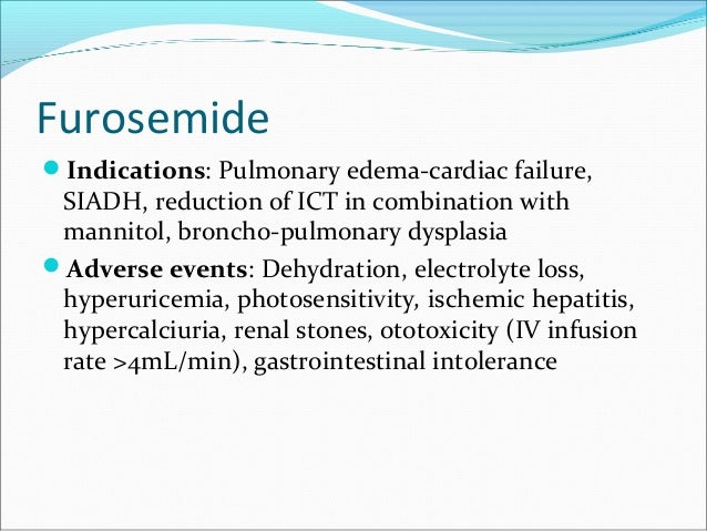 Lasix pediatric dose