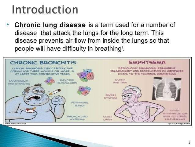 Medication use in chronic lung disease