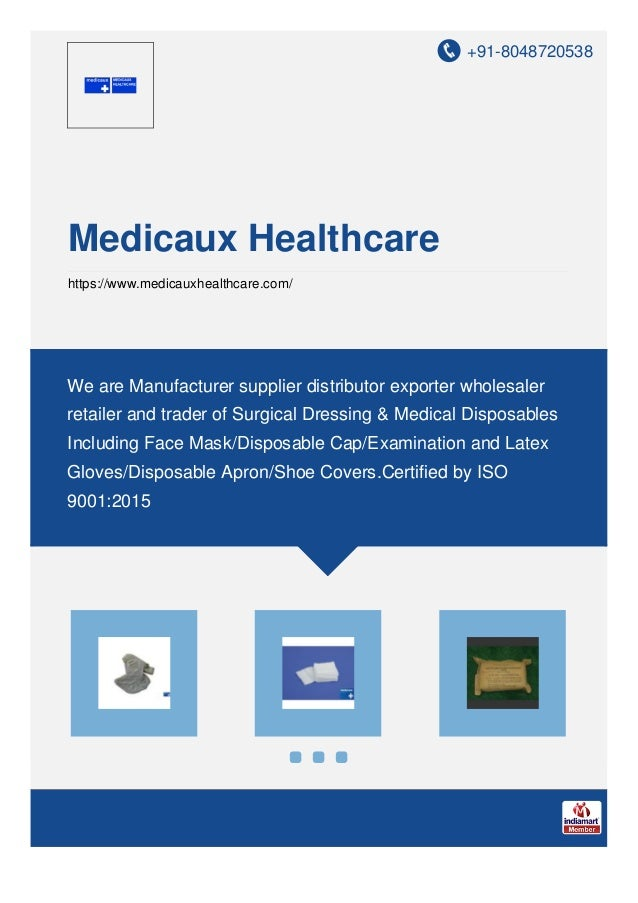 +91-8048720538 Medicaux Healthcare https://www.medicauxhealthcare.com/ We are Manufacturer supplier distributor exporter w...
