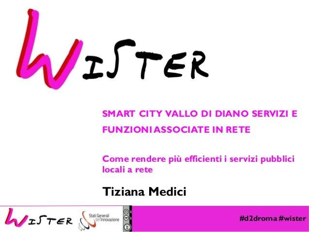 #d2droma #wister Foto di relax design, Flickr SMART CITY VALLO DI DIANO SERVIZI E FUNZIONI ASSOCIATE IN RETE Come rendere ...