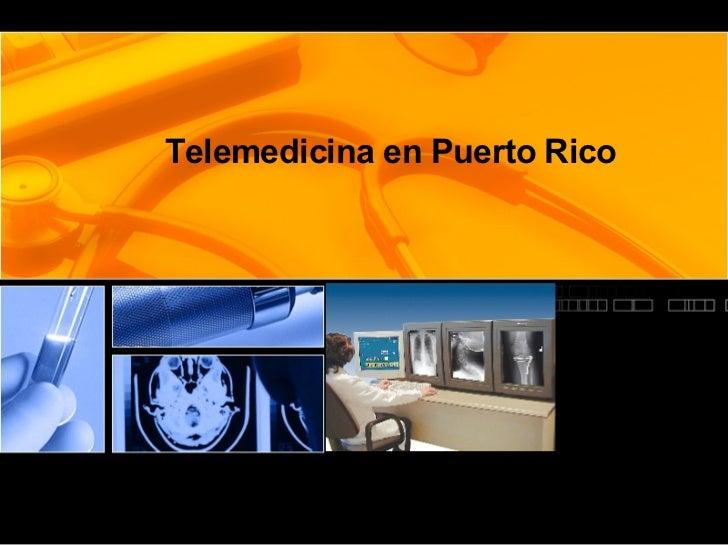 Telemedicina en Puerto Rico