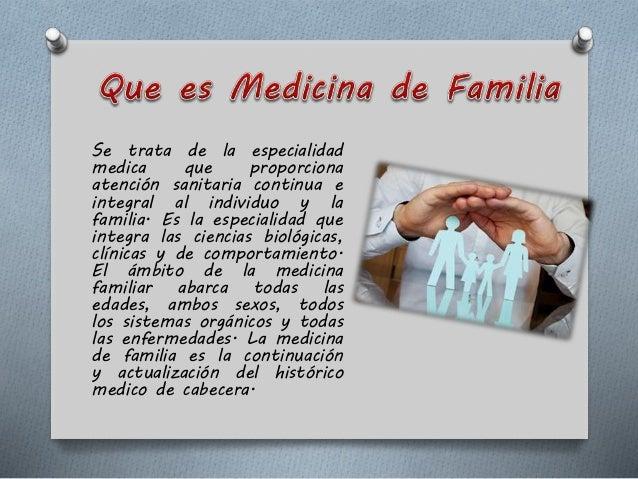 Medicina familiar- Atención Primaria en Salud Slide 2