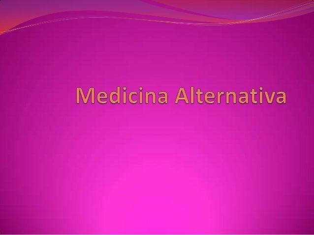 Resumen Conjunto de disciplinas terapéuticas y diagnósticas que existen fuera de las instituciones del sistema de salud c...