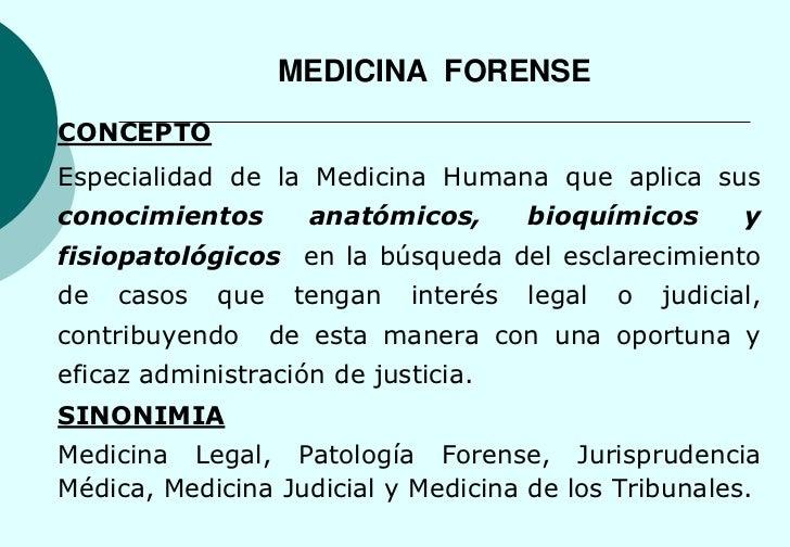 Medicina Forense Resumen 2010