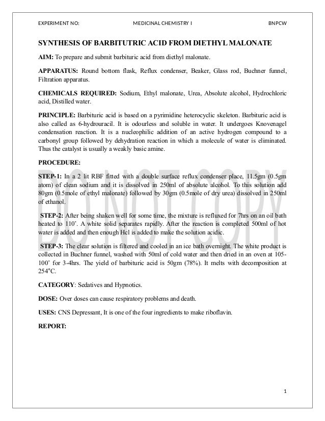 Medicinal chemistry i_lab_manual