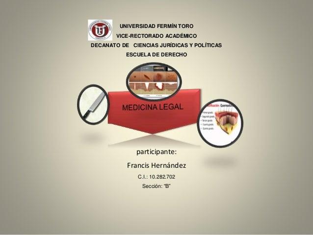 UNIVERSIDAD FERMÍN TORO VICE-RECTORADO ACADÉMICO DECANATO DE CIENCIAS JURÍDICAS Y POLÍTICAS ESCUELA DE DERECHO participant...