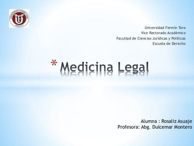 Universidad Fermín Toro Vice Rectorado Académico Facultad de Ciencias Jurídicas y Políticas Escuela de Derecho * Alumna : ...