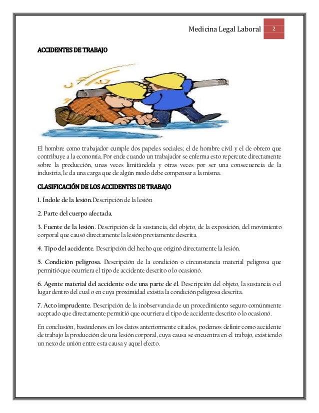 Medicina legal laboralii Slide 2