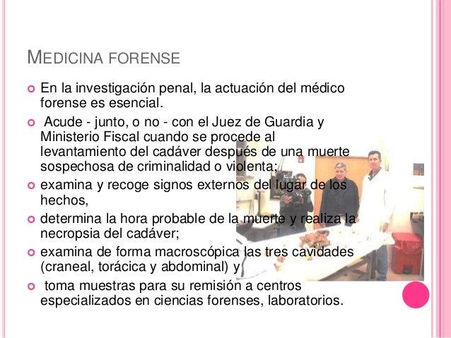Medicina Legal Y Forense Definicion Y Diferencias