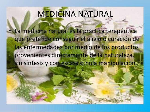 Medicina Natural Que Es
