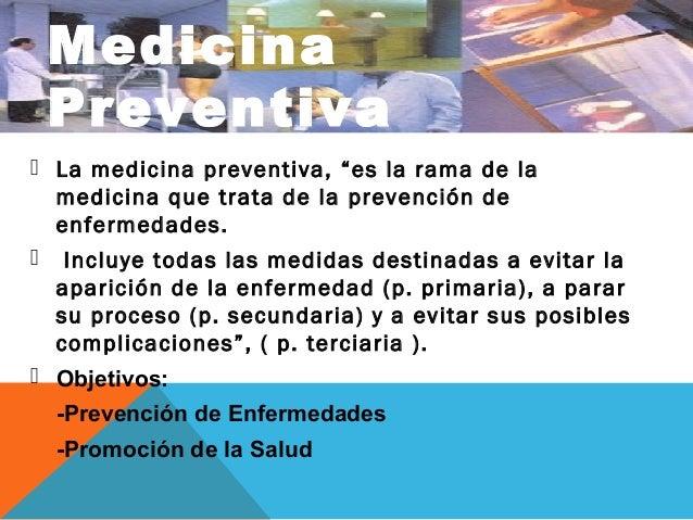 Medicina Preventiva Historia Natural De La Enferm