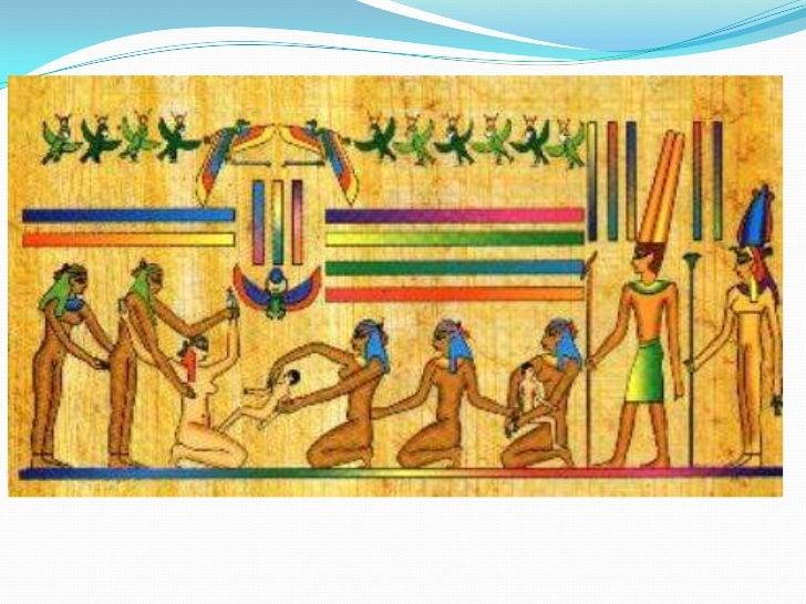 Los sanadores egipcios clasificaron las enfermedades en :<br />a. Las atribuidas a espíritus malignos.<br />b. Las de caus...