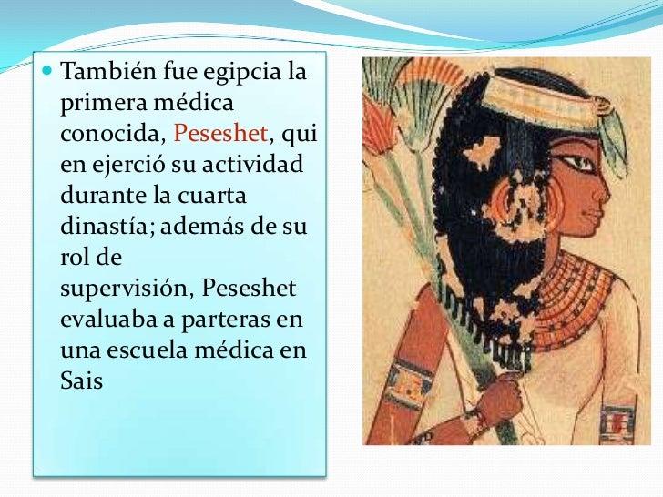 Herodoto llegó a llamar a los egipcios el pueblo de  los sanísimos, <br />debido al notable sistema sanitario  público que...