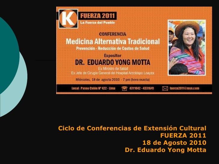 Medicina Alternativa Tradicional