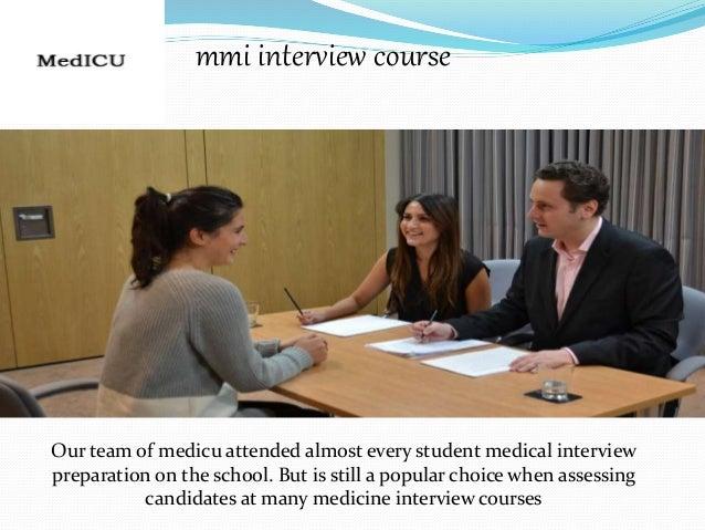 Mmi medical interview preparation