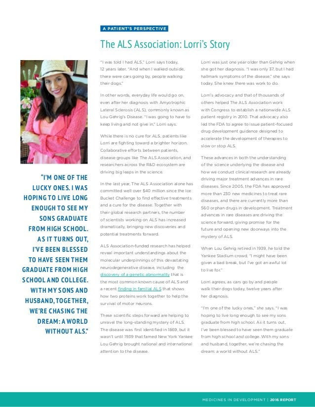 """MEDICINES IN DEVELOPMENT 