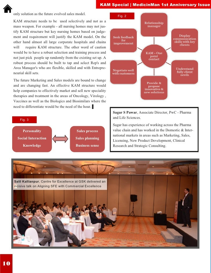 KAM Special | MedicinMan 1st Anniversary Issue     only solution as the future evolved sales model.                  Fig. ...