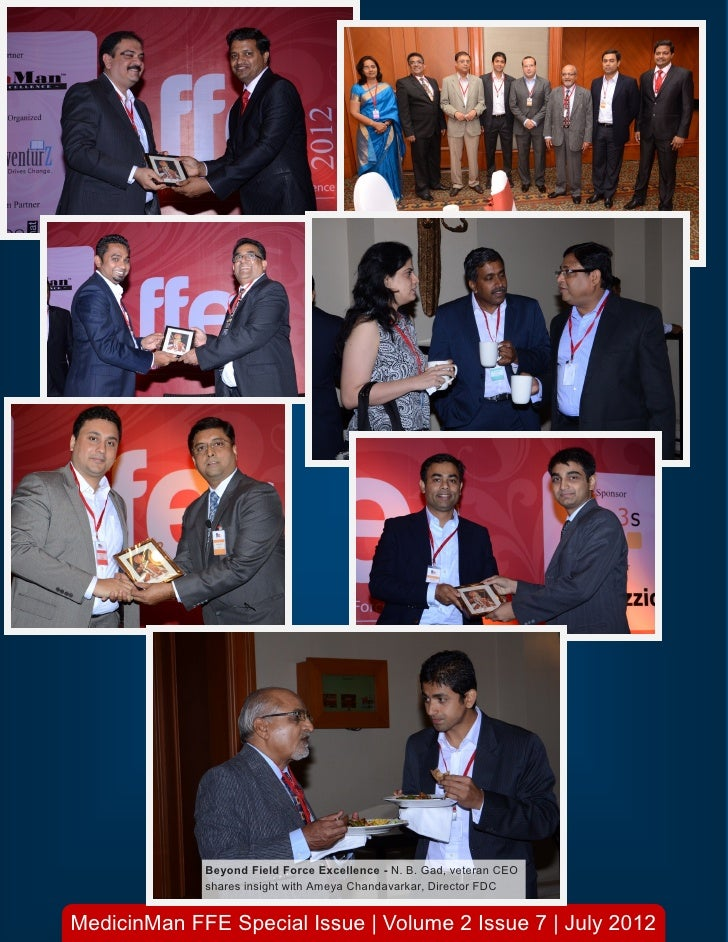 Beyond Field Force Excellence - N. B. Gad, veteran CEO             shares insight with Ameya Chandavarkar, Director FDCMed...