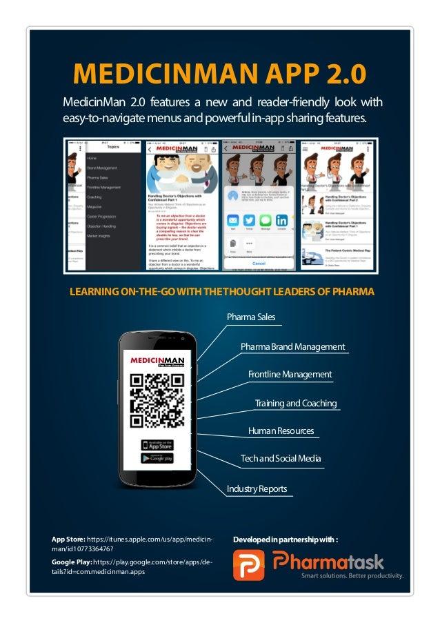 App Store: https://itunes.apple.com/us/app/medicin- man/id1077336476? Google Play: https://play.google.com/store/apps/de- ...